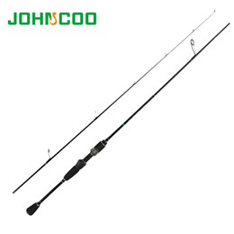 carbon lights 2019 - JOHNCOO Glory Fishing Rod 0.6-6g Test Fast Action 1.68m 1.8mUL Spinning Rod for Light Jigging Trout rod 2.1m 2-10g Carbo