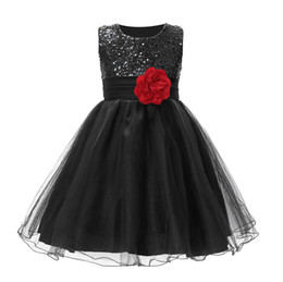 tulle lace styles for children Australia - fashion girl dress elegant sequin T-shirt princess lace dresses children dresses for girls Vestidos 2018 Free shipping