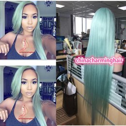 Wholesale New Arrival Best Lace Wigs Glueless colored Human Hair Wig With Pre plucked Hairline color Brazilian Lace Front Wig Virgin Hair