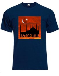 Wholesale Best Destinations In The World Istanbul Turkey Hagia Sophia Mens Tshirt AG22