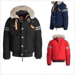 05b3d1590c917 NEW Fashion Brand Designer Men White Duck Down Parkas Male Fur Hoodie  Sweatshirt Man Winter Warm Coats men Short Jackets Trench coats