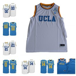 48aa28165950 Custom NCAA UCLA Bruins College Basketball 0 Russell Westbrook 2 Lonzo Ball  14 Zach LaVine 42 Kevin Love Stitched Any Name Number Jerseys