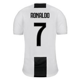 best quality 2019 Juventuses T shirts Adult RONALDO DYBALA 18 19 Man shirt  Free shipping Shirts e95b181e6