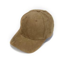 Men Leather Brim Cap UK - Fashion New Arrival Adjustable Unisex Artificial  Suede Baseball Cap Hat 4609d50dae85