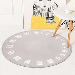 $enCountryForm.capitalKeyWord Canada - 150*150cm Round Rug,European and American Style,Polyester Anti-slip Carpets,Perfect for Bedroom Study Parlor Floor and Children Crawling Mat