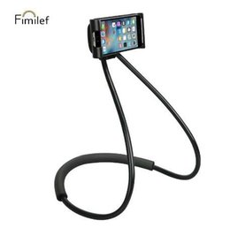 Wholesale Fimilf Lazy Neck Phone Holder Stand for iPhone Universal Cell Phone Desk Mount Bracket for Samsung Xiaomi Flexible Phone Holder