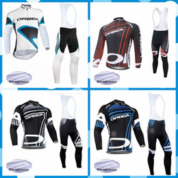 orbea fleece jersey NZ - ORBEA team Cycling Winter Thermal Fleece jersey (bib) pants sets MTB High Quality sport kits men wear NEW 101102J