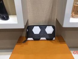 Football Wallets NZ - luxury bags long mens wallets football women unisex red card holder fashion zippers purses free shipping