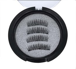 $enCountryForm.capitalKeyWord UK - Brand New Natural Long 3 Magnetic Lashes by Hand made high-grade Synthetic Fiber Hair False Eyelashes DHL Free