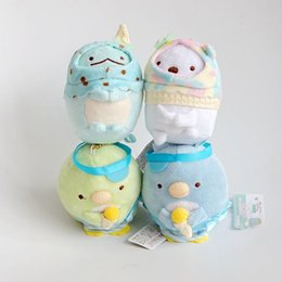 Ice vIdeo online shopping - EMS Sumikko Ice Cream CM Plush Doll Stuffed Pendant Best Gift Soft Toy