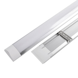 Surface mounted online shopping - Surface Mounted LED Batten Double row Tubes Lights FT FT FT FT T8 Fixture Purificati LED tri proof Light Tube W W AC V