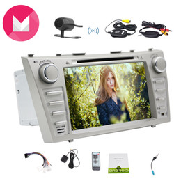 2din gps NZ - Car Navigation GPS Android6.0 Mashmallow for Toyota Camry in Dash 2Din Car GPS Navigation Map Car DVD Player Monitor 1080P Video Play