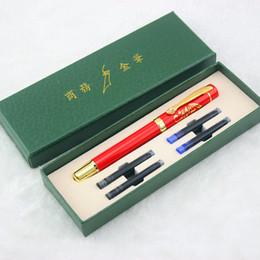 $enCountryForm.capitalKeyWord Australia - diamond pen set Metal Fountain Pen 0.5mm New Year school office supplies stationery Elegant Color case Pens For Writing school