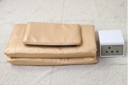 $enCountryForm.capitalKeyWord Australia - New arrival !!!High Infrared Blanket 3 Zone Controller Body Wrap Sauna Blanket