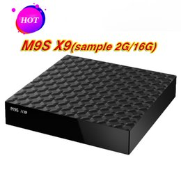 $enCountryForm.capitalKeyWord UK - Cheapest Quad Core M9S X9 S8 PRO Android TV BOX 2GB 16GB Bluetooth Android 6.0 Media Player Better TX2 X96 MXQ PRO 4K
