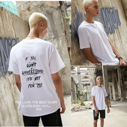 Short Sleeved Sweater men online shopping - Men s New Short Sleeved T shirt Letter Printing Retro Style Half Sleeved Sweater Fashion T shirt Self cultivation Style