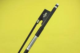$enCountryForm.capitalKeyWord Australia - New PRO black 4 4 full size Carbon fiber violin bow Ebony frog black horse hair