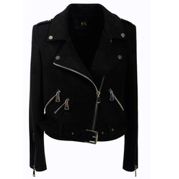 $enCountryForm.capitalKeyWord Canada - Fashion Gothic faux leather PU Jacket Women Winter Autumn Fashion Motorcycle Jacket Black faux leather coats Outerwear 2018