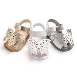 $enCountryForm.capitalKeyWord Australia - Cute Infant Baby Boys Girls Summer Sandals Hot Sale Newborn Baby Princess Sole Prewalker Soft Shoes Butterfly Sandals For 0-18M