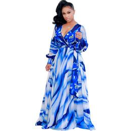 Asymmetrical Clothing For Women UK - African Dresses for Women Printing  Dashiki Dress Robe Femme Casual 738717fb1
