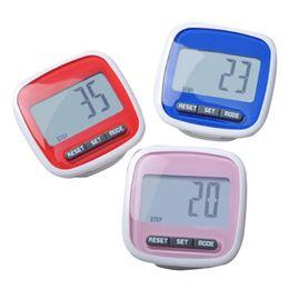 Discount mini digital screens - LumiParty Mini Small Step Counter Movement Calories Digital Pedometer with Waterproof Wear Resistance Big Screen