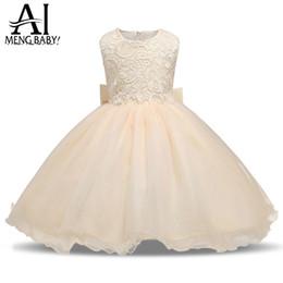 $enCountryForm.capitalKeyWord UK - Ai Meng Baby Children Girl Dress 2017 Kids Ceremony Party Dresses Tulle Lace Flower Girl Wedding Gown Baby Girl Graduation Dress