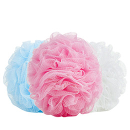 Sponge Balls UK - 5PCS Bath Shower Body Exfoliate Puff Sponge Mesh Net Ball Random