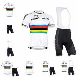 2018 Summer Team QUICK STEP Cycling Jersey set ETIXX Men Short Sleeve Ropa  ciclismo MTB Bike Clothes Breathable Bicycle Clothing 91822Y 082d5b655