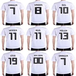 Womens uniform shorts online shopping - Mens Womens Kids world cup home  white Soccer Jerseys MULLER 04d843013