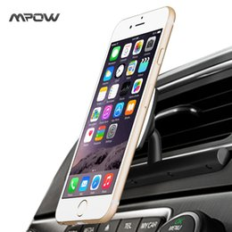 Wholesale MCM9B Universal CD Slot Car Phone Holder Magnetic Cradle less Smartphone Car Mount Holder w Degree Swivel For iPhone