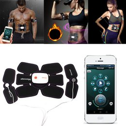 $enCountryForm.capitalKeyWord Australia - Body Slimming Fitness Massage Suit Smart App Multi EMS Abdominal Muscle Trainer Electronic Muscle Stimulator Exerciser Machine