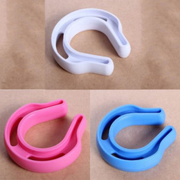 Wholesale Baby Safety Gates NZ - 2pcs U Baby Safety Gate Card Infant Door Stop Security Safe Doorways Exit door card Plastic Security Stopper Clip