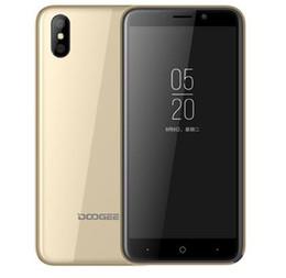 dual sim card wifi smartphone 2019 - 5.0ich Big Size HDC doogee X50 smartphone MTK6580 Quad Core Cellphone 1GBRAM 8GBROM Curve Screen 5MP Back Camera hot sal