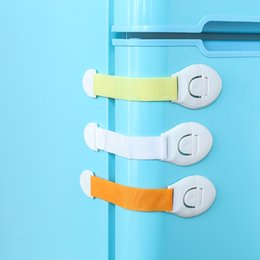 $enCountryForm.capitalKeyWord Australia - Hot Selling Child Safety Lock Infant Baby Kids Refrigerator Toilet Drawer Door Cabinet Cupboard Toddler Locks