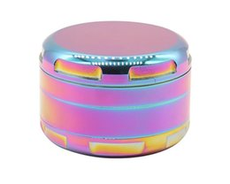 Corner Cutters UK - New colorful zinc alloy corner 4 layer cigarette lighter 63mm manual metal smoke lighter smoke cutter