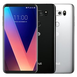 Wholesale Refurbished Original LG V30 H930 H931 inch Octa Core GB RAM GB ROM MP Unlocked G LTE Smart Mobile Cell Phone Free DHL