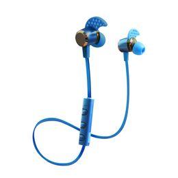 Wireless Headphones Mic Blue Australia - Kin-88 for iphone headphones 4.1 Deep Bass headphones Wireless in Ear Metal Sport Music bluetooth headphones with Mic
