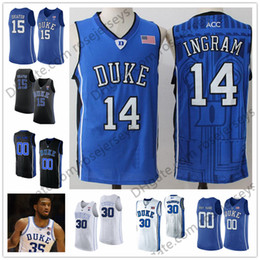 d0b6b12015c ... duke blue devils 14 brandon ingram 15 jahlil okafor 30 seth curry white  black royal stitched