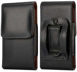 $enCountryForm.capitalKeyWord Canada - Fashion Men PU Leather Waist Packs Phone Pouch Bags Hook Loop Belt Clip Case Waist Bag Black Mobile Phone Bags for Sony LG Nokia HTC Samsung