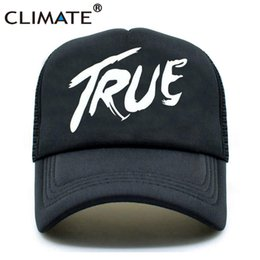 635a1c74 CLIMATE Men Women New Trucker Caps AVICII TRUE Hot Music DJ Caps Hot Summer  Music AVICII Fans Baseball Mesh Net Trucker Cap Hat