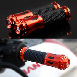 Wholesale Motorcycle Aluminum CNC Grips Handle Bar Rubber Gel Hand Grip MM handlebar High Quality Dirt Pit Bike Motocross