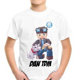 Cotton Cart NZ - Dan TDM T-Shirt Fun l Cart Adventures Kids Gamers gaming gift HD Mobile PC Xbox