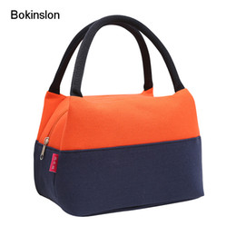 small canvas bag women NZ - Bokinslon Woman Handbags Bag Canvas Mixed Colors Female Small Bags Practical Large Capacity Women Handbag
