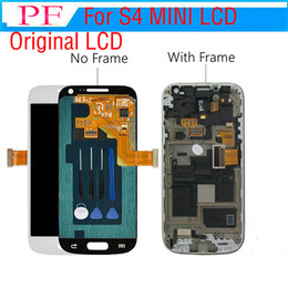 Touch Screen For Galaxy S4 Canada - 3 pieces Original For Samsung Galaxy S4 Mini i9190 lcd assembly digitizer + Touch Screen complete Assembly + free Repair tools