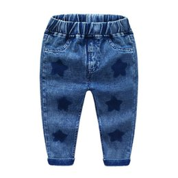 Children s fashion jeans online shopping - Fashion Children Pants New Children s Wear Boys Jeans Kids Casual Long Trousers Baby Boys Clothing Y K