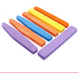 Wholesale Professtional EVA Nail Files Dual Sided Shinning Sponge Nails Sanding Block Inch Nail Art Tool Foot Care Set