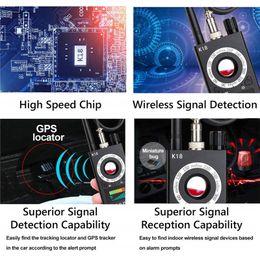 Wholesale Gps Radio Australia - New RF Signal Detectors Wireless Bug Detector Anti Signal Detector for Mini Camera GSM Audio Bug Sweeper Finder RF Radio Scanner GPS Tracker