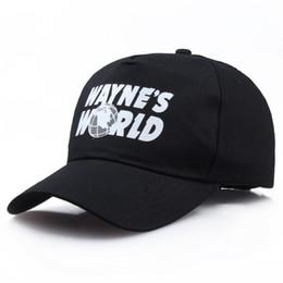 Wayne s World Black Cap Hat Baseball Cap Fashion Style Cosplay Embroidered  Trucker Hat Unisex Mesh Cap Adjustable Size ffc000ce395