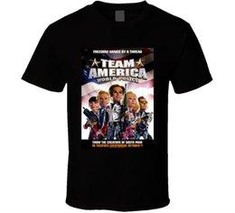 Sh Fashion UK - Team America World Police Cool 21st Century Comedy Classic Movie Poster Fan T Sh