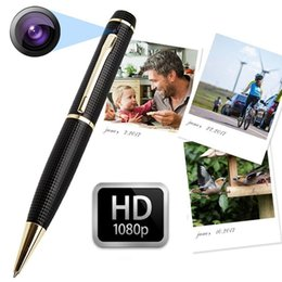 Digital Pen Camcorder NZ - HD 1080P 720P mini pen camera portable pen Mini DV DVR digital Video Recorder Mini Camcorder Pen pinhole camera With motion detection